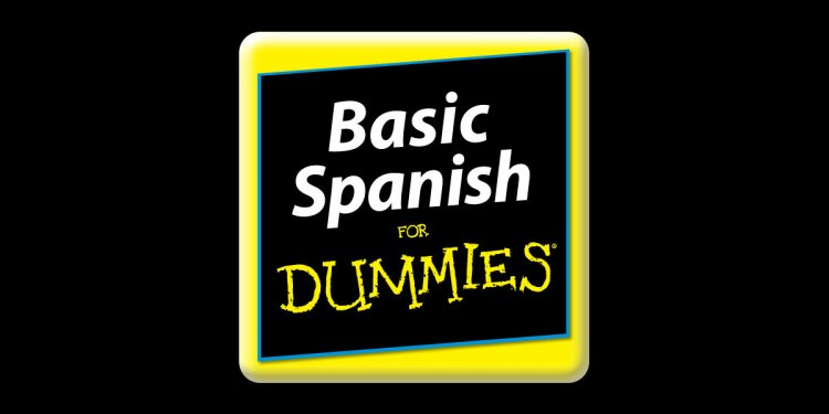 Basic Spanish For Dummies on