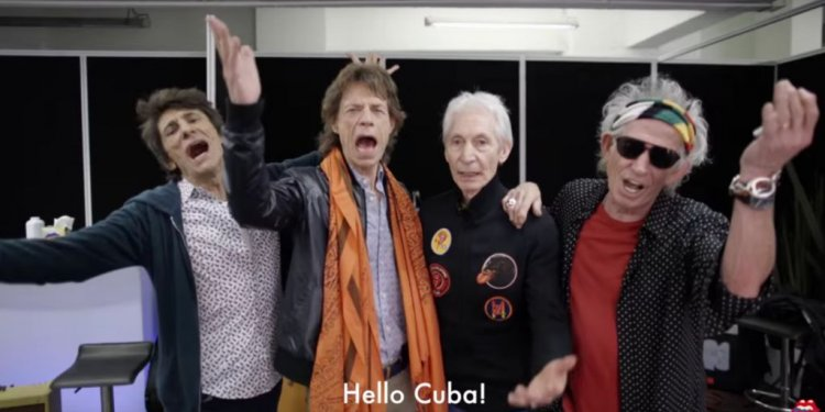 Hear Mick Jagger Speak Spanish