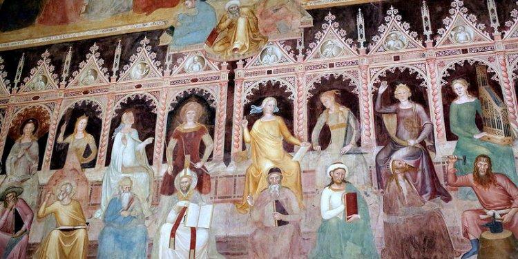 IMG_5DE Florence. Santa Maria Novella. Cappellone di Spagnoli. Spanish Chapel. Talenti architect. 1359...