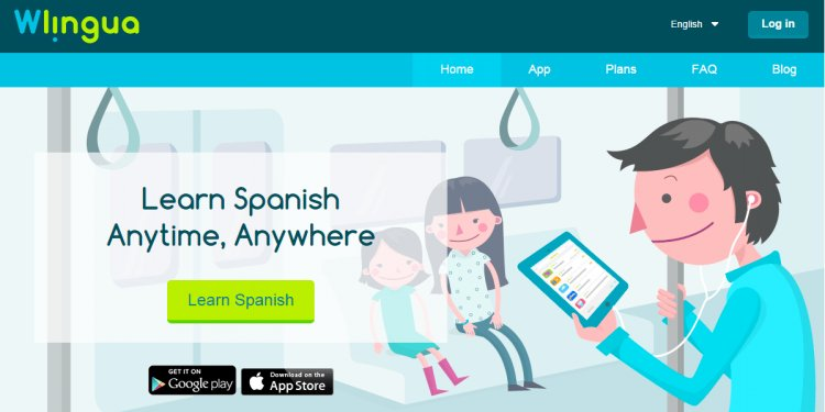 Learn Spanish with Wlingua!