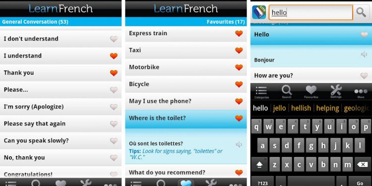 Best language learning apps Android