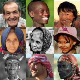 Faces from the world